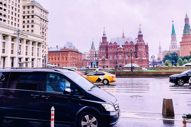 Private Moscow Driving Tour with Local Guide