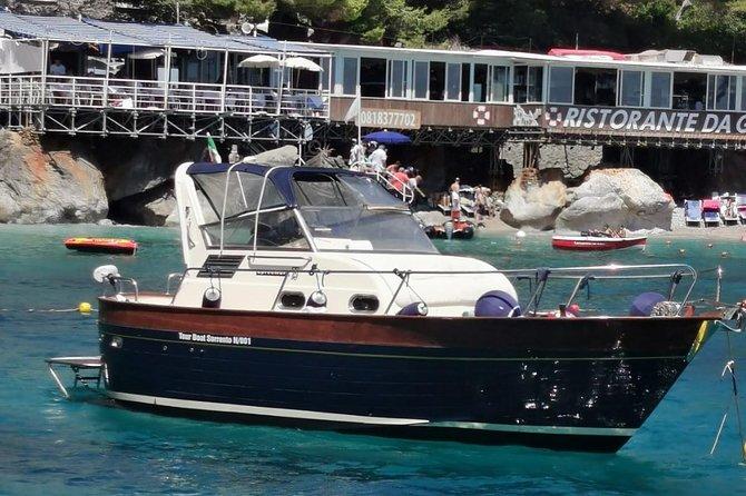 Tour boat Capri - Small Group - Queen