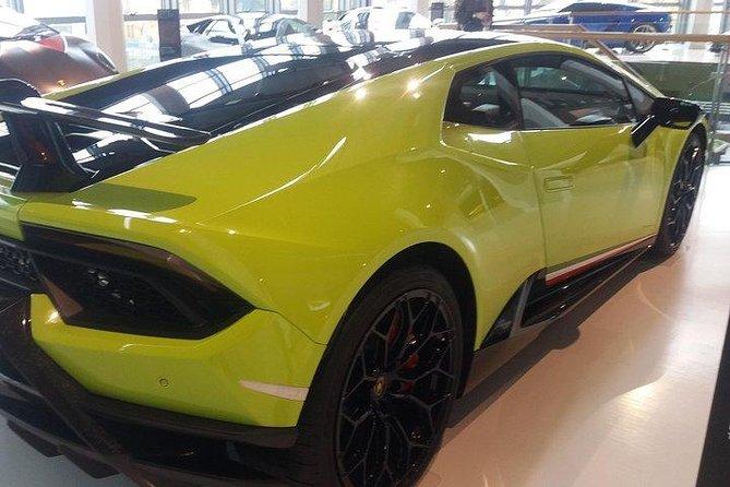 Lamborghini factory Tour halfday from Venice