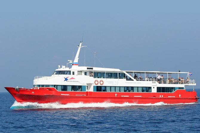 Koh Phangan to Koh Phi Phi by Seatran Discovery Ferry, Coach and Ferry