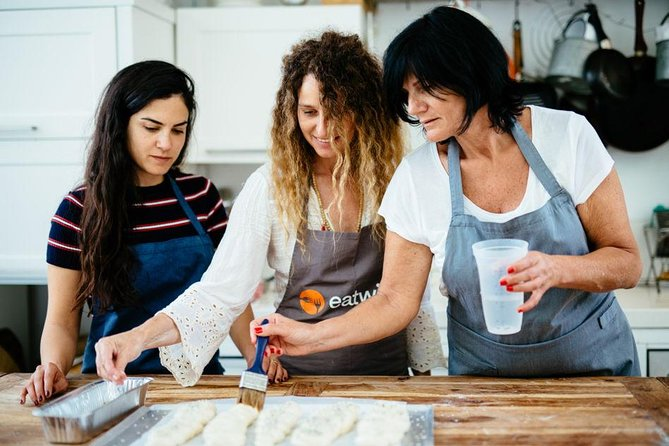 Traditional Jewish Challah bread workshop and brunch