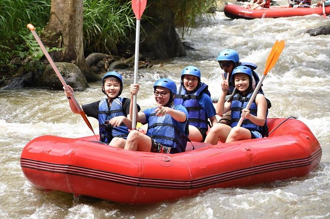Bali Rafting In Ayung River Includes Lunch And Transport