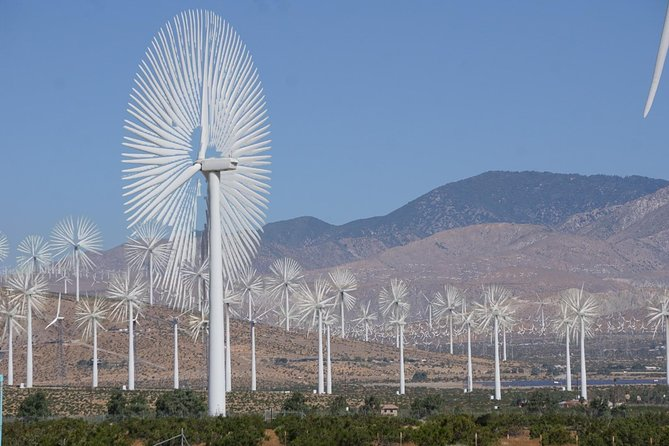 Palm Springs Windmill Tours is the only behind the fence historical eco bus tour photo 3