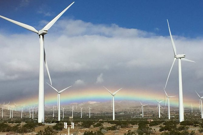 Palm Springs Windmill Tours is the only behind the fence historical eco bus tour photo 8