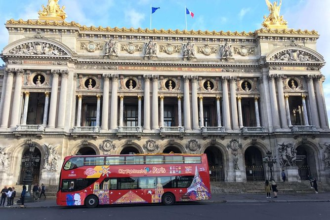City Sightseeing Paris Hop-On Hop-Off Bus Tour