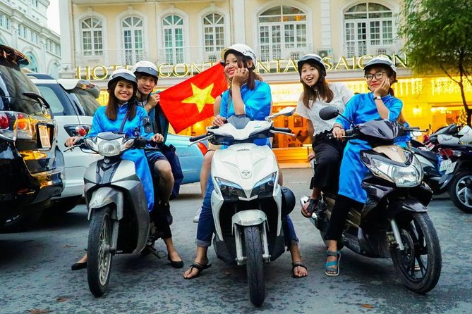 Girlpower Motorcycle Food Tour Adventure in Ho Chi Minh City