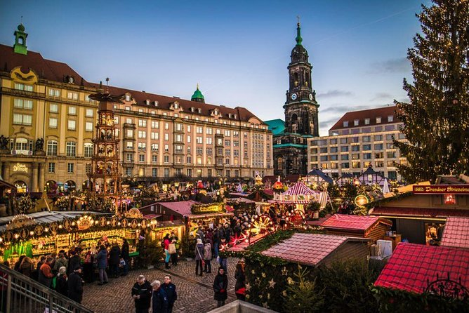 Christmas Private Daytrip - Prague to Dresden & back with 4/6/8h of Sightseeing