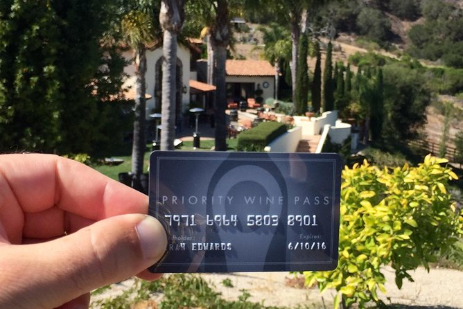Priority Wine Pass: Discounts at 400+ wineries in Napa, Sonoma, CA, OR and WA