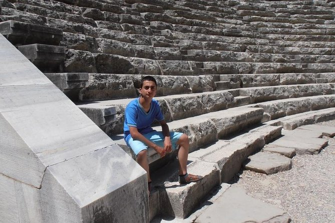 Side Antic City- Aspendos Antique Theatre. Duden Waterfall