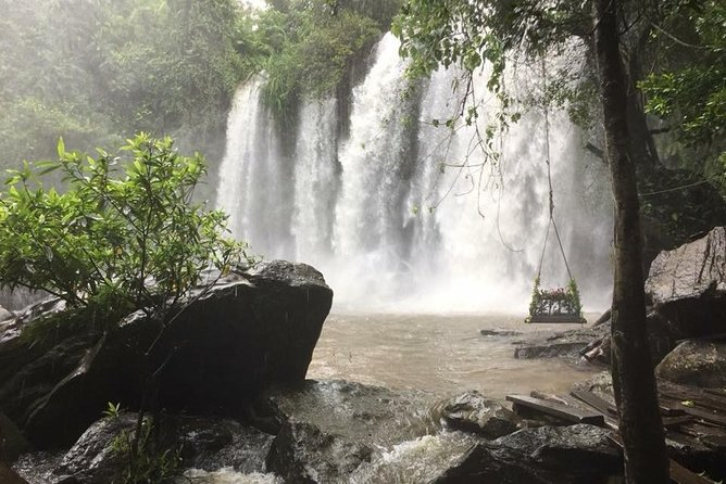 Kulen mount waterfall 1000 Shiva Lingas Tour by Join-in