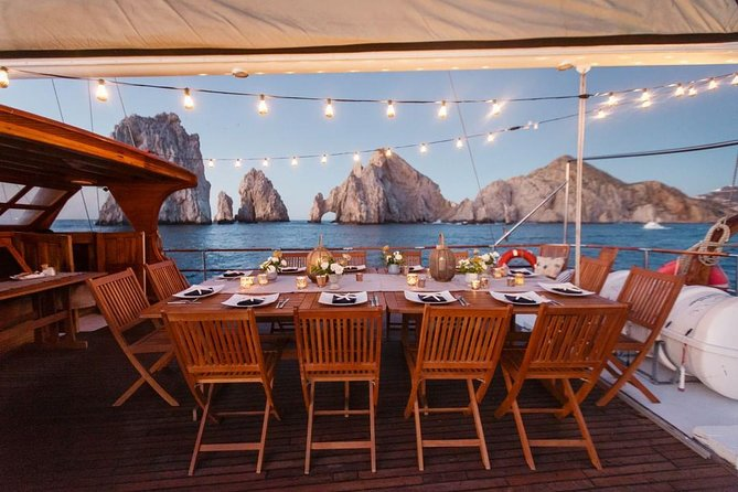 Luxury Sailboat at Sunset with Premium Drinks & Gourmet Dinner