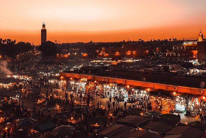 Agadir to Marrakech Medina Day Trip