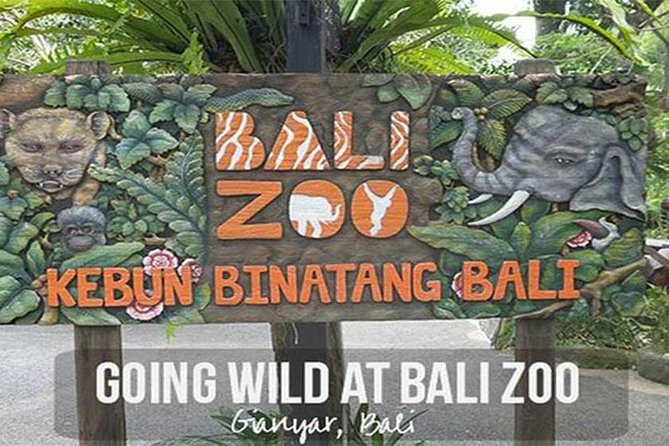 Bali Zoo Admission Ticket with Hotel Transfer