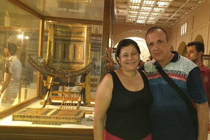 Full DAY TOUR TO GIZA PYRAMIDS WITH CAMEL RIDE AND EGYPTIAN MUSEUM IN CAIRO photo 2