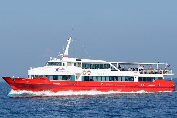 Koh Samui to Khao Sok by Seatran Discovery Ferry, Coach and Minivan