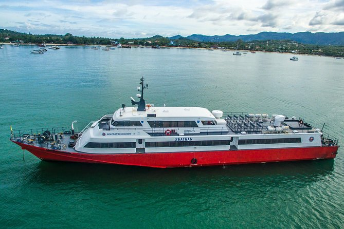 Koh Samui to Koh Lanta by Seatran Discovery Ferry, Coach and Minivan