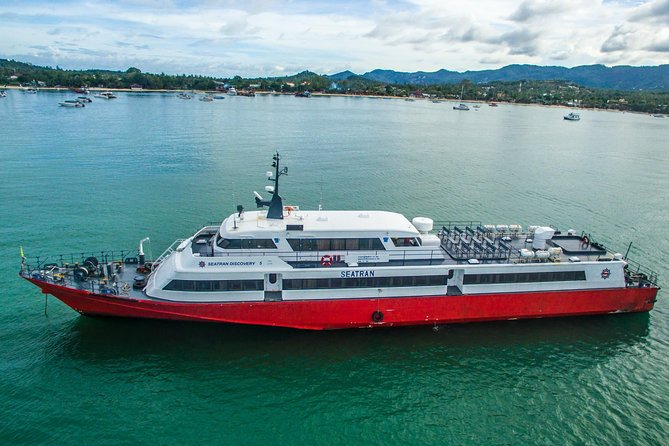 Koh Samui to Koh Phi Phi by Seatran Discovery Ferry, Coach and Ferry