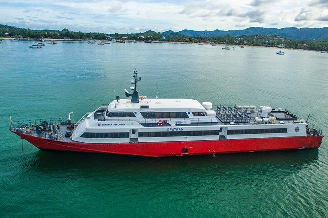 Koh Samui to Phuket by Seatran Discovery Ferry and Phantip Bus