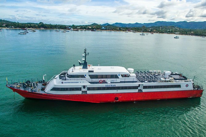 Koh Samui to Surat Thani Airport by Seatran Discovery Ferry and Minivan