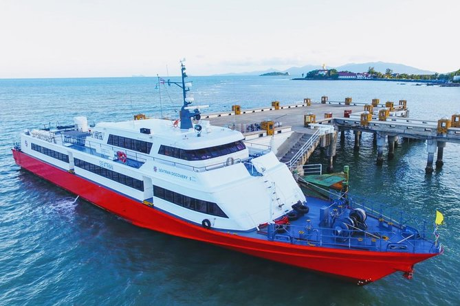 Koh Tao to Koh Lanta by Seatran Discovery Ferry, Coach and Minivan