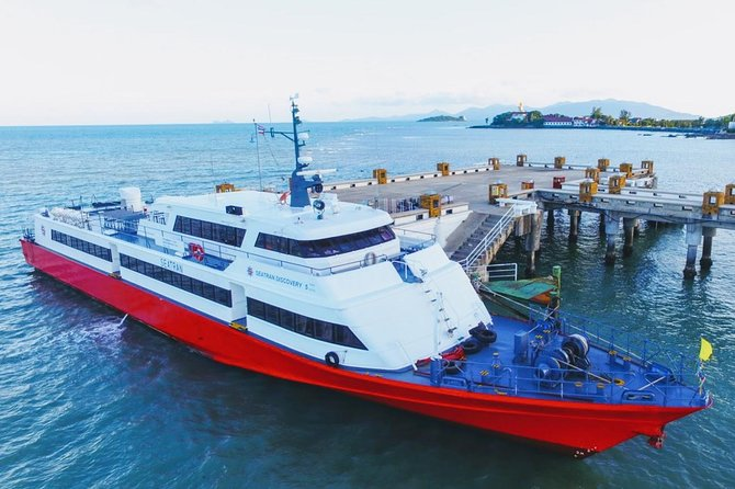 Koh Tao to Krabi by Seatran Discovery Ferry and Coach