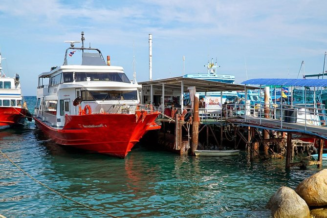 Krabi to Koh Samui by Coach and Seatran Discovery Ferry