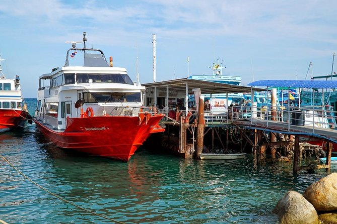 Phuket to Koh Phangan by Phantip Bus and Seatran Discovery Ferry