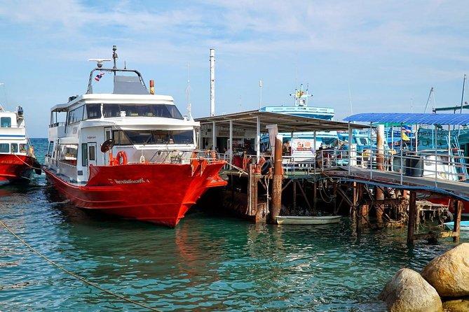 Surat Thani Don Sak Pier to Koh Phangan by Seatran Discovery Ferry