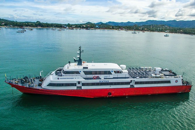 Surat Thani Don Sak Pier to Koh Samui by Seatran Discovery Ferry