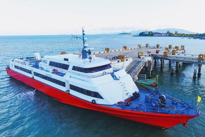 Surat Thani Don Sak Pier to Koh Tao by Seatran Discovery Ferry