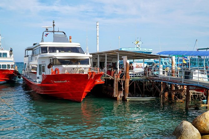 Surat Thani Town to Koh Samui by Shared Minivan and Seatran Discovery Ferry