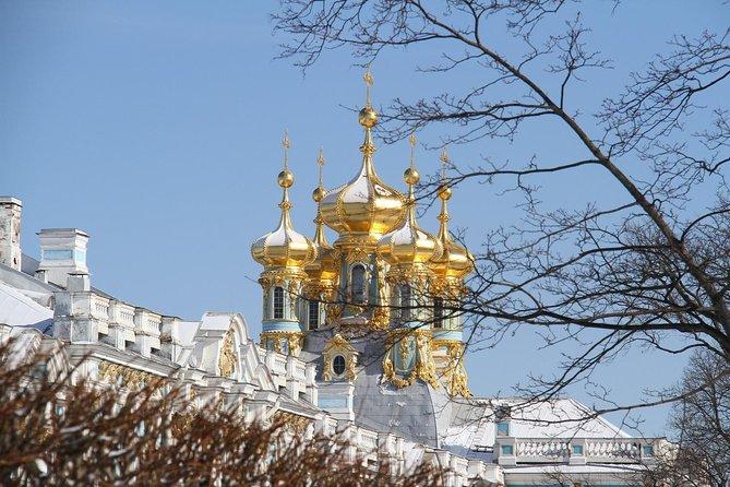 Palaces of St Petersburg in Winter - Peterhof, Pushkin & Hermitage