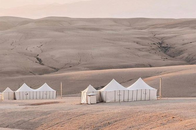 Agafay desert trip through the 4 Atlas mountain valleys with Berber villages
