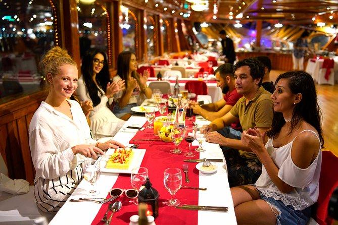 Abu Dhabi Traditional Dhow Cruise 5* Dinner by Radisson Blue