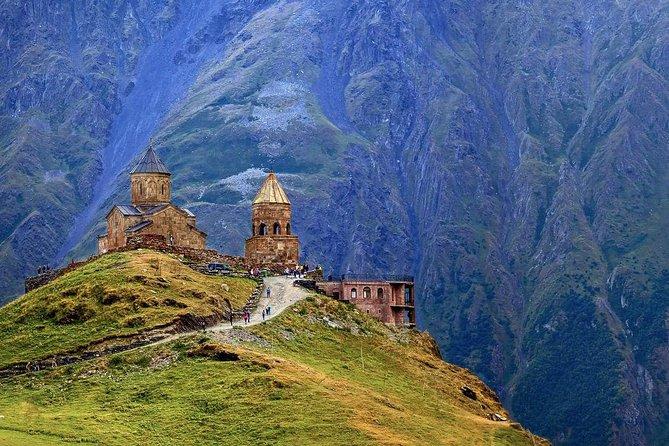 Private one day tour to Stepantsminda ( kazbegi) Ananuri, Friendship monument