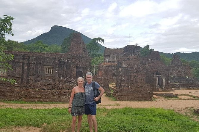 My Son Holyland &Da Nang City Private Tour(Marble Mountain,Lady Buddhda Statue )