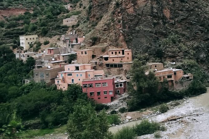 3 valleys trip around the high atlas mountains. Camels, lunch with locals...