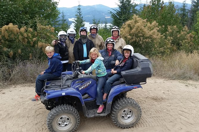 Guided Off-Road Vehicle Tours in North Idaho Forests