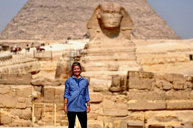 Full-Day Tour to Pyramids, Sphinx, Saqqara, & Memphis