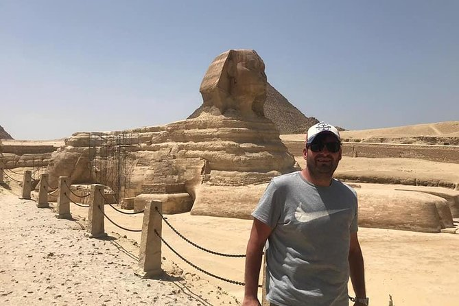 Giza pyramids and Dahshur and Saqqara