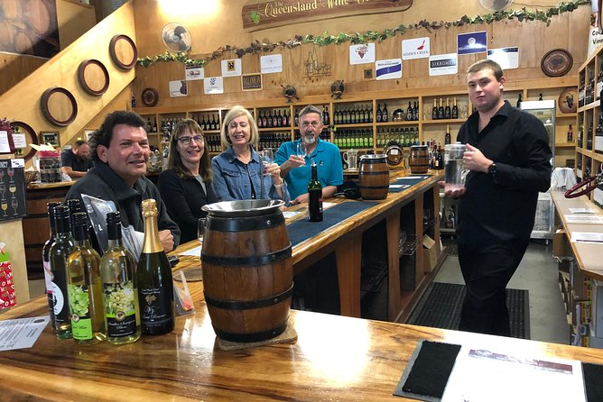 Deluxe Wine Tasting Tour Mt Tamborine Includes 2 course Lunch