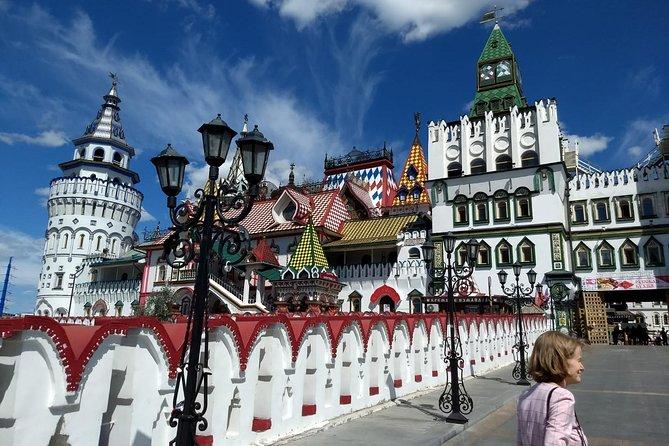 Fascinating Izmailovo Kremlin and Flea Market