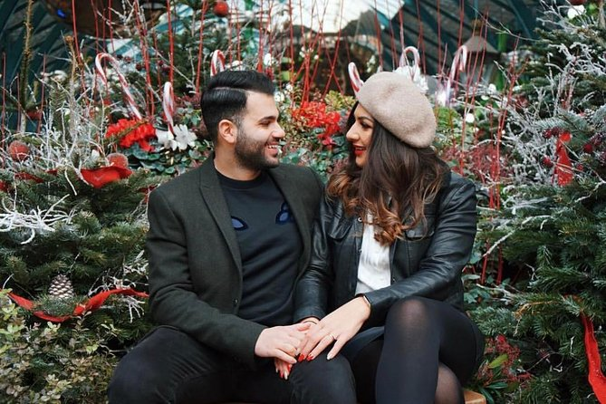Secret spots of Christmas photo shoot