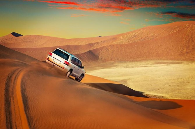 Dubai Desert Safari Red Dune: BBQ, Camel Ride & Sand-boarding photo 1