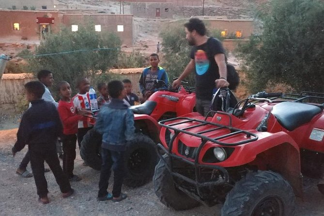 Half-Day Guided Quad/ATV Tour to Berber Villages