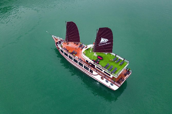 The Escape Sails – A Luxury Halong Bay Day Tour with a Difference photo 3