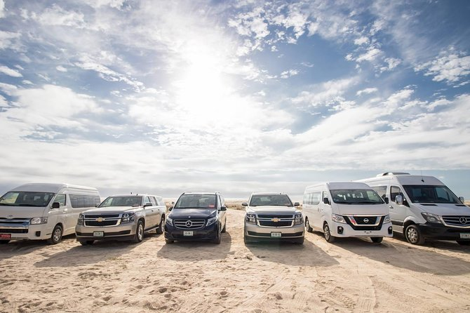 Cabo San Lucas Private Van Up To 15, For $120 Round-trip