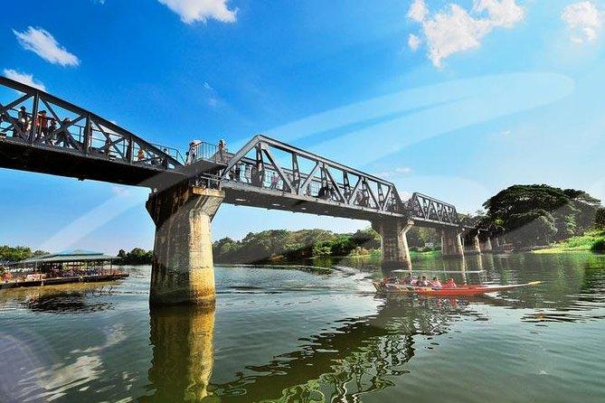 2 jours d'excursion à la rivière Kwai et à Kanchanaburi au départ de Bangkok