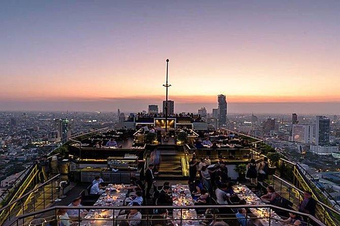 Fine Dining Experience at Vertigo Rooftop Restaurant at Banyan Tree Hotel
