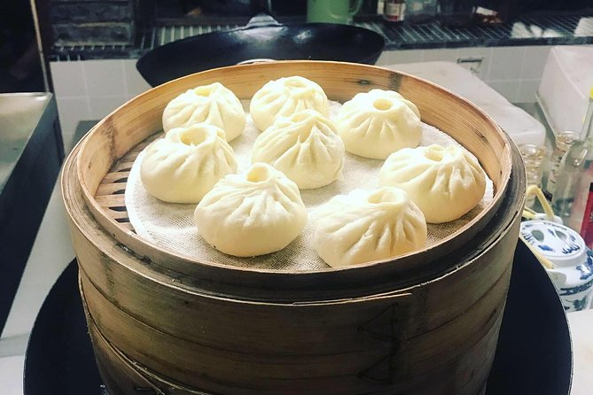 Half-Day Chinese Bun Cooking Class with Local Spice Market Visit